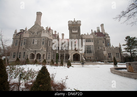 A famous castle in Toronto. - Stock Photo