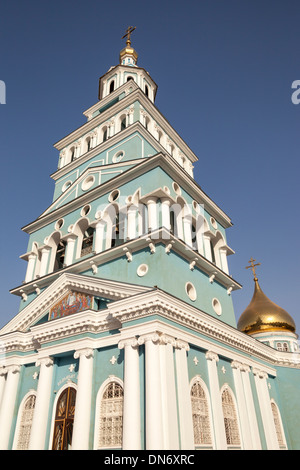 Saint Uspensky Sobor Russian Orthodox Assumption Cathedral, Tashkent, Uzbekistan - Stock Photo