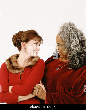 Aug. 19, 1999 - K17803CM.TOUCHED BY AN ANGEL.TV-FILM STILL.SUPPLIED BY    ROMA DOWNEY.DELLA REESE(Credit Image: - Stock Photo