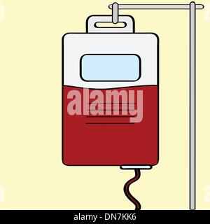 Blood transfusion - Stock Photo