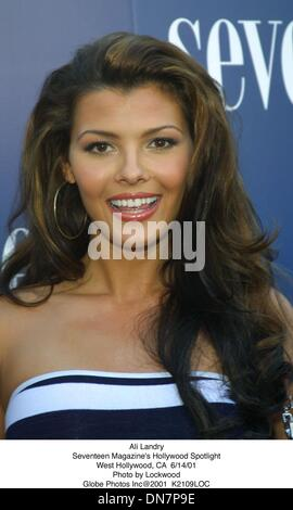 June 15, 2001 - Ali Landry.Seventeen Magazine's Hollywood Spotlight.West Hollywood, CA  6/14/01. Lockwood.   2001 - Stock Photo