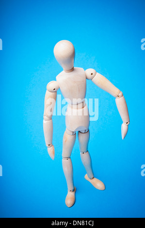 articulated mannequin for artists - Stock Photo
