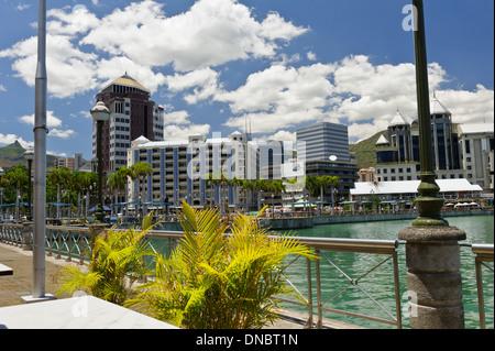 Caudan Waterfront, Port Louis, Mauritius. - Stock Photo