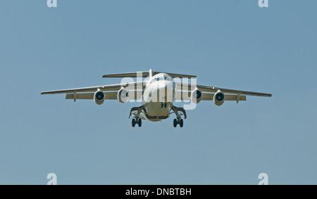 QinetiQ Avro RJ 2 at Deptford Down - Stock Photo