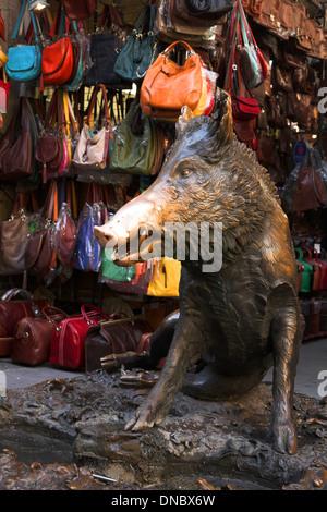 Mercato Nuovo Florence - Stock Photo