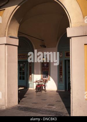 Restaurant Danieli,Piazza Garibaldi,Nice,Old Town,Vieille Ville,France - Stock Photo