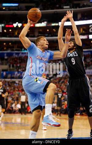 Los Angeles, California, USA. 22nd Dec, 2013. Blake Griffin #32 of the Clippers in action during the NBA game between - Stock Photo