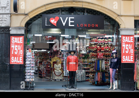 Love London Front facade in London - Stock Photo