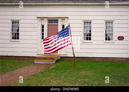Old Bethpage Village restoration on Long Island NY - Stock Photo