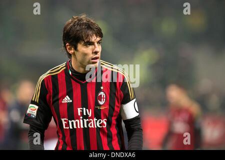 Milan, Italy. 22nd Dec, 2013. Kaka (Milan) Football / Soccer : Italian 'Serie A' match between FC Internazionale - Stock Photo