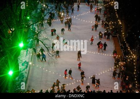 Christmas in Edinburgh - Stock Photo