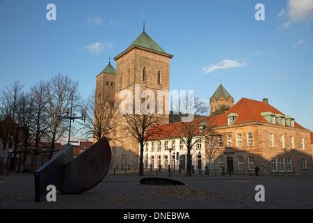 St. Peter's Cathedral, Osnabrück, Lower Saxony, Germany - Stock Photo