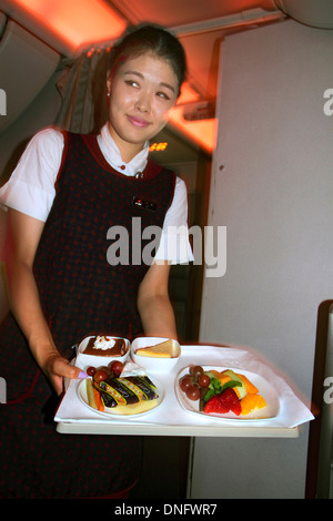 Air asia flight attendant on a flight from phnom penh for Airasia japanese cuisine