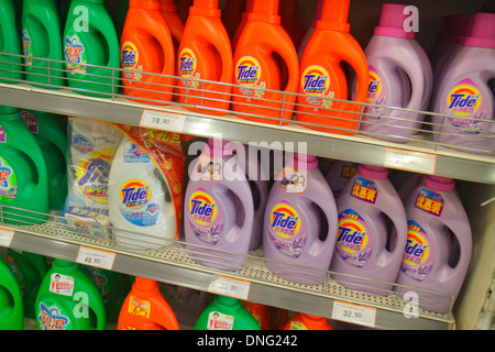 Tide Laundry Detergent On Display At A Costco Wholesale