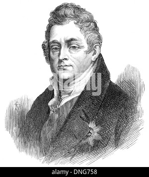 William IV or William Henry, 1765 - 1837, King of the United Kingdom of Great Britain and Ireland and of Hanover, - Stock Photo