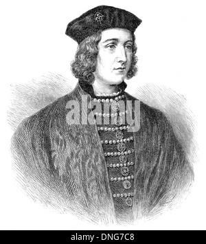 Edward IV, 1442 - 1483, King of England from 1461 until 1470, and from 1471 until 1483, Eduard IV, - Stock Photo