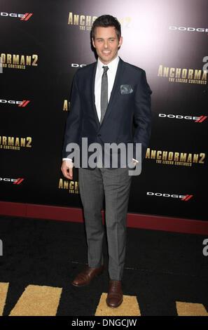 New York, NY, USA. 15th Dec, 2013. James Marsden at the 'Anchorman 2: The Legend Continues' U.S. Premiere. © Dan - Stock Photo
