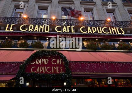 La Grand Caf Ef Bf Bd Capucines Paris