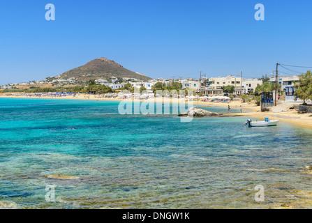 Agios Prokopios beach views, Naxos Island, Cyclades, Greece - Stock Photo