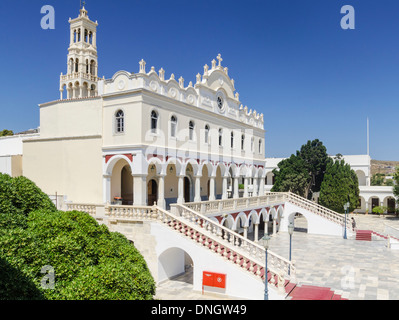 Church of Panagia Evangelistria at Tinos island in Greece ...