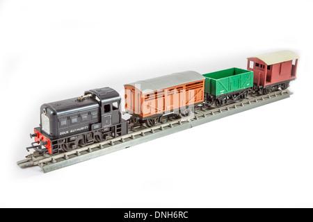 Triang Dock Shunter R253 Model Railway Train set - Stock Photo