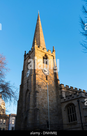 St Peter's Church, St Peter's Gate, Nottingham, England. 'St Peter's Church was first constructed in 1180. - Stock Photo