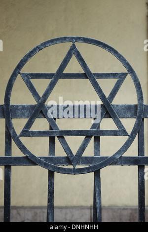 Star of David, the Judaic religion symbol - Stock Photo