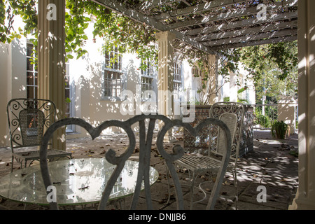 PERGOLA AT THE FINCA VIGIA, THE HOUSE BOUGHT BY ERNEST HEMINGWAY (1899-1961), AMERICAN AUTHOR AND JOURNALIST, IN - Stock Photo