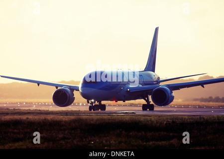 Thomson Airways Boeing 787-8 Dreamliner at London Gatwick Airport, England, UK. - Stock Photo