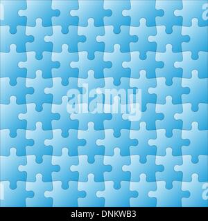 Background Vector Illustration jigsaw puzzle - Stock Photo