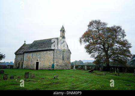 Wiston Parish Church on  Water Lane, Wiston. Picture by Julie Edwards - Stock Photo