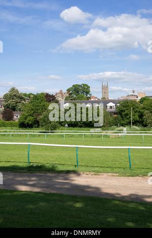 warwick racecourse park warwickshire midlands england uk - Stock Photo