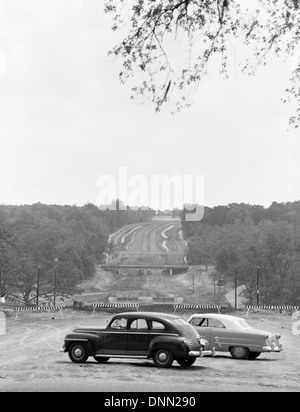 Construction of Apalachee Parkway in Tallahassee, Florida - Stock Photo