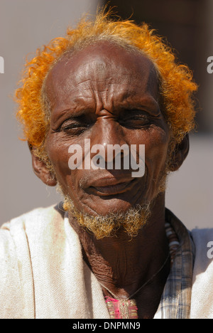 Issa man in Dikhil town in the south of Djibouti, Horn of Africa - Stock Photo