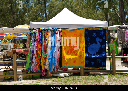 colourful beach towels and sarongs on sale at le morne beach mauritius stock - Beach Towels On Sale