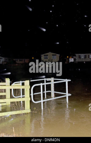 Iford Christchurch Dorset UK 02nd Jan 2014 Residents Are Evacuated
