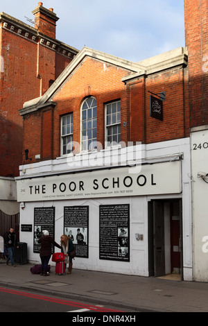 The Poor School in London, England. - Stock Photo