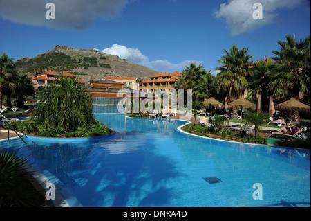 The Pestana Hotel Porto Santo near Madeira Europe - Stock Photo
