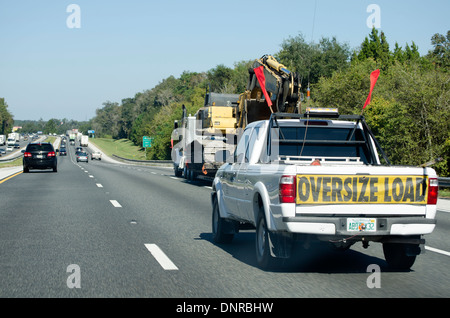 escort-vehicle-truck-with-oversize-load-
