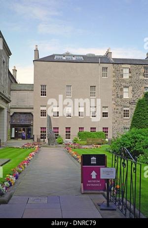 Surgeons' Hall Museums, The Royal College of Surgeons of Edinburgh, Nicholson Street, Edinburgh, Scotland, UK - Stock Photo