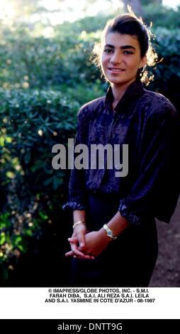 June 15, 2001 - © IMAPRESS/   08-1987- LEILA IN COTE D'AZUR(Credit Image: © Globe Photos/ZUMAPRESS.com) - Stock Photo