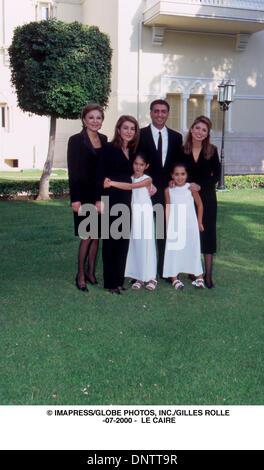 June 15, 2001 - © IMAPRESS/   GILLES ROLLE -07-2000 -  LE CAIRE(Credit Image: © Globe Photos/ZUMAPRESS.com) - Stock Photo