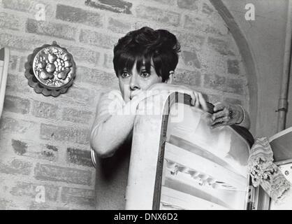 July 2, 1967 - AUDREY HEPBURN.Wait Until Dark 1967.Supplied by   Photos, inc.(Credit Image: © Globe Photos/ZUMAPRESS.com) - Stock Photo