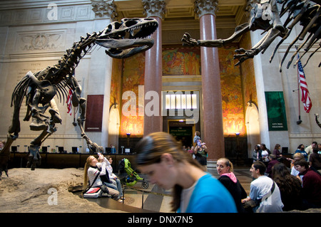 American Museum of Natural History. Central Park West to 79th Street. Tel 212-769-5100. (Mon-Sun 10am-5: 45pm / - Stock Photo
