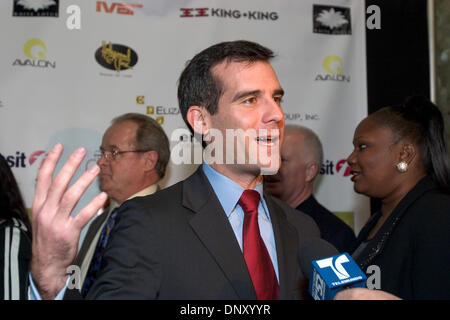Jan 09, 2006; Los Angeles, CA, USA; LA City Councilman ERIC GARCETTI at the launch party for the Holly Trolley. - Stock Photo