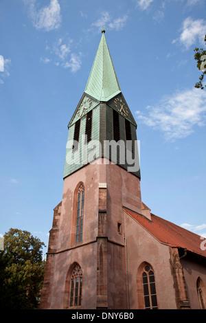 St. Peter's Church Peterskirche in Heidelberg, Baden-Württemberg, Germany - Stock Photo