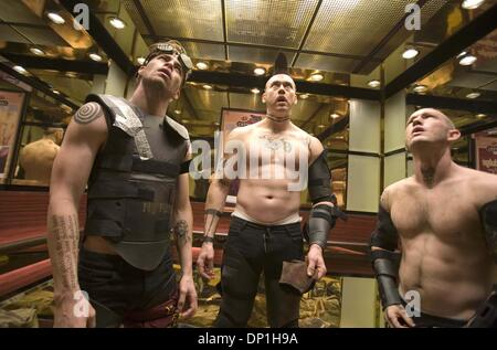 Dec. 07, 2005 - SMOKIN' ACES.TV-FILM STILL. K51207ES.(L to R) Assassins Darwin Tremor (CHRIS PINE), Jeeves Tremor - Stock Photo