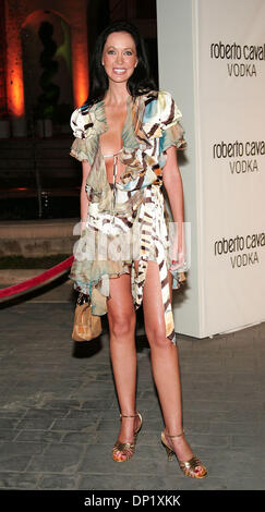 May 11, 2006; Beverly Hills, CA, USA; Actress MELANIE MARCOLA arriving at international fashion designer Roberto - Stock Photo
