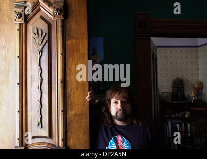 May 24, 2006; Sacramento, CA, USA; Tesla band member Brian Wheat at his midtown home.    Mandatory Credit: Photo - Stock Photo