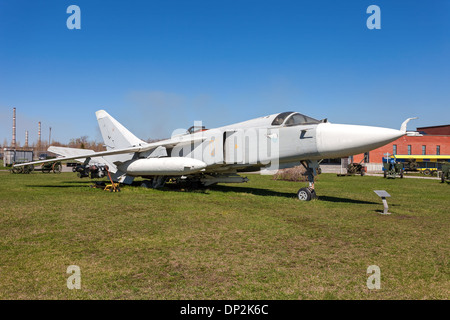 The Sukhoi Su-24 'Fencer' supersonic, all-weather attack aircraft - Stock Photo